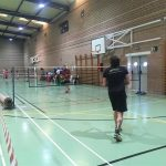 Exitazo en el Torneo Solidario de bádminton por la Fibrosis Quística