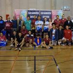 Broche de oro al Circuito de bádminton Solidario de Cartagena